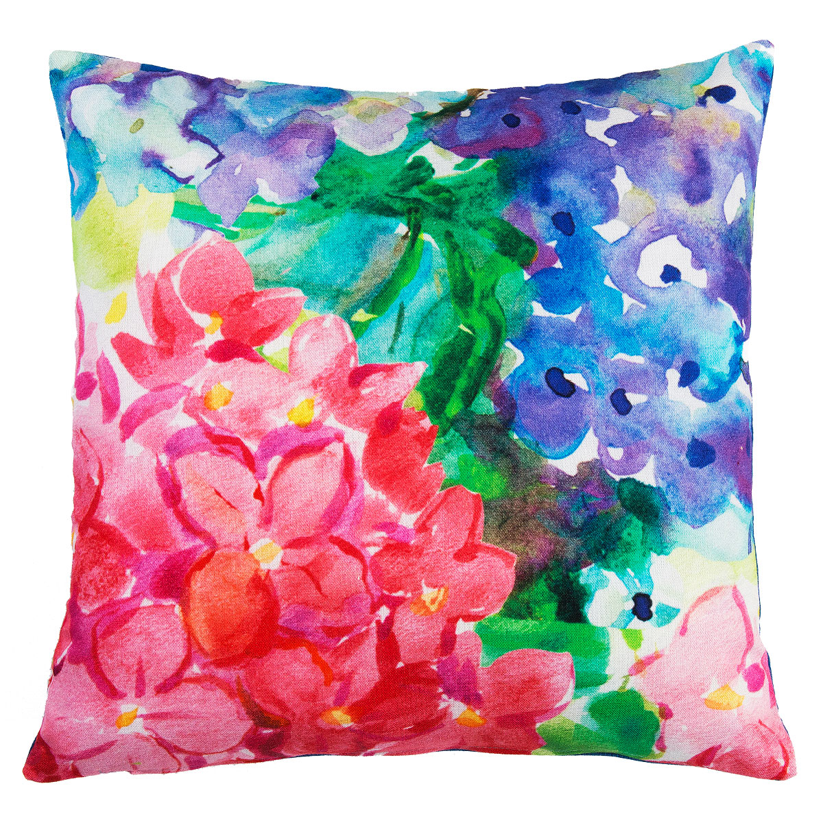 Watercolour Floral Digital Print Cushion Covers Sw Living