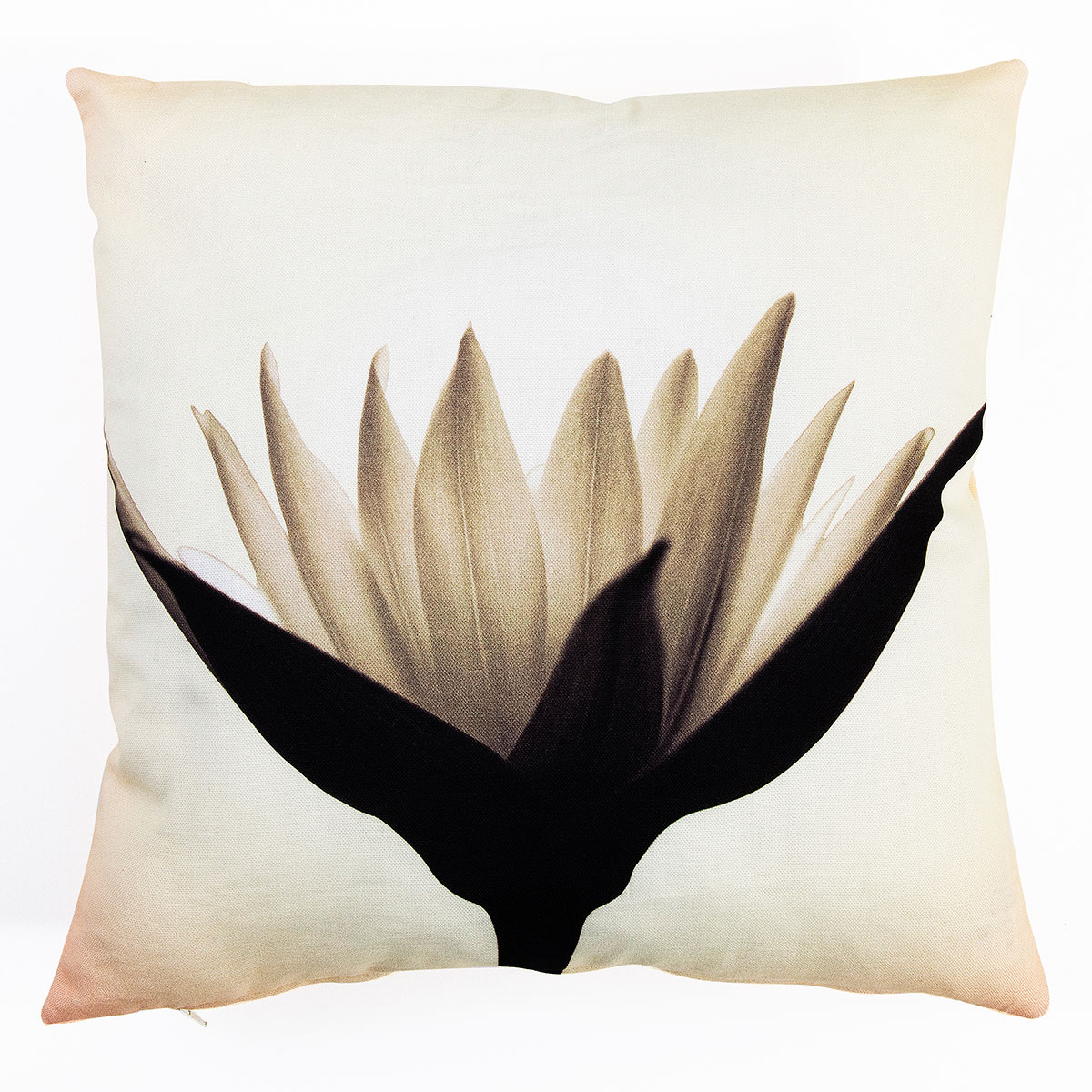 Single Flower Digital Print Cushion Covers Sw Living