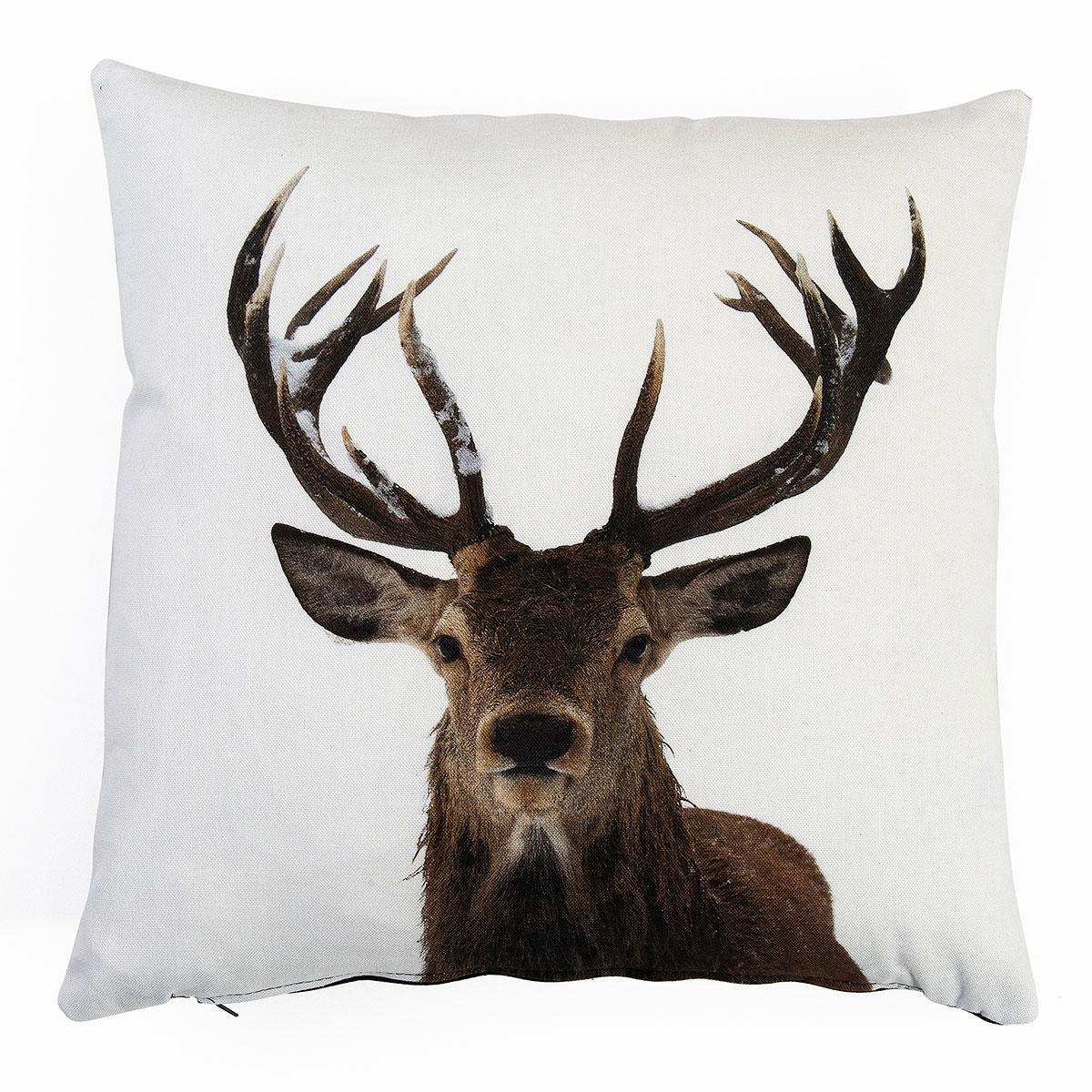 Stags Head Digital Print Cushion Covers Sw Living