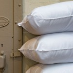 Pillow by door Close
